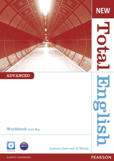 New Total English Advanced  Workbook with Key - Náhled učebnice