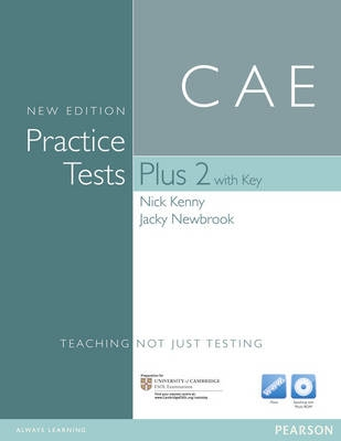 CAE Practice Tests Plus 2, With Key