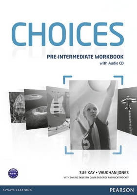 Choices Pre-intermediate workbook