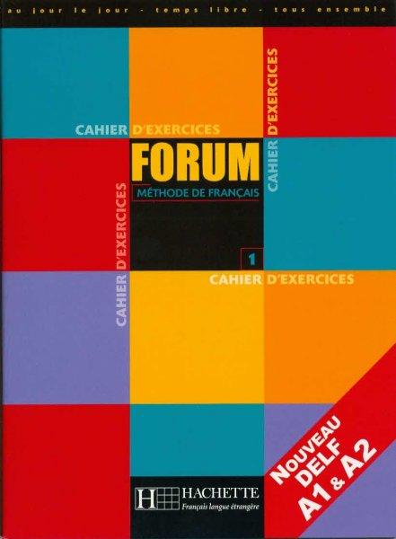 Forum 1, méthode de français (pracovní sešit)