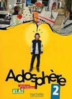 ADOSPHERE 2 LIVRE D´ELEVE + AUDIO CD