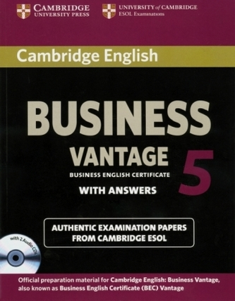 Business 5 Vantage Student's Book with Answers