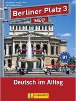 BERLINER PLATZ NEU 3 LEHRBUCH und ARBEITSBUCH mit AUDIO CDS .