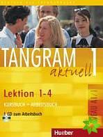 Tangram aktuell 1, Lektion 1-4 (Kursbuch+Arbeitsbuch) - Náhled učebnice