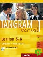Tangram aktuell 1, Lektion 5-8 (Kursbuch+Arbeitsbuch)