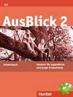 AusBlick 02. Arbeitsbuch mit eingelegter Audio-CD, Deutsch für Jugendliche und junge Erwachsene - Náhled učebnice
