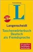 Langenscheid Taschenworterbuch Deutch als Fremdsprache