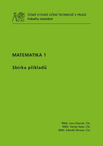 Matematika 1, sbírka příkladů
