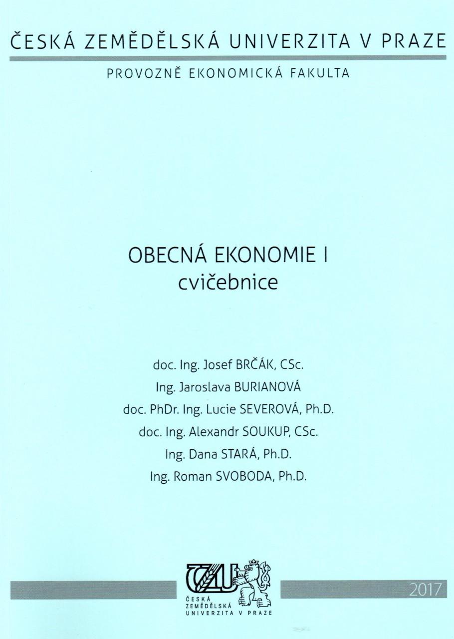 Obecná ekonomie I - cvičebnice - Náhled učebnice