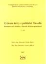 Vybrane Texty Z Politicke Filosofie