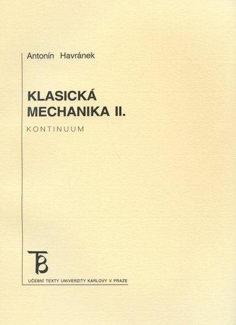 Klasická mechanika 2. - kontinuum