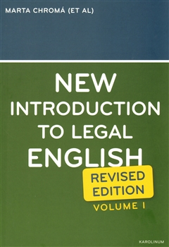 NEW INTRODUCTIN TO LEGAL ENGLISH revised edition
