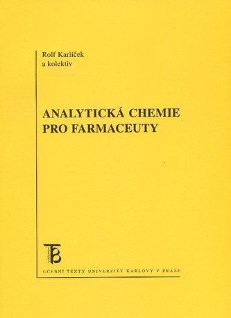 Analytická chemie pro farmaceuty - Náhled učebnice