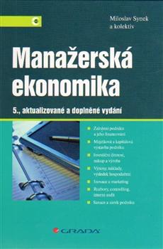 Manažerská ekonomika - 5., aktualizované a doplněné vydání