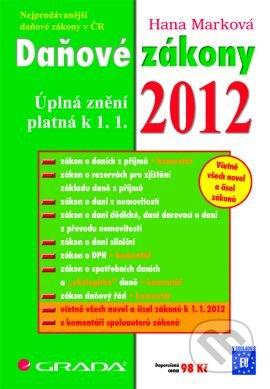 Daňové zákony 2012 - Náhled učebnice