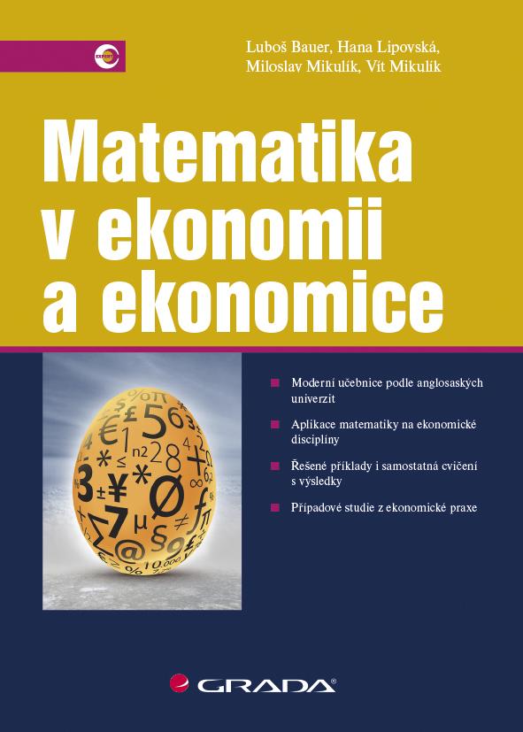Matematika v ekonomii a ekonomice - Náhled učebnice