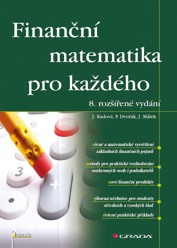 Finanční matematika pro každého, 8. rozšířené vydání - Náhled učebnice