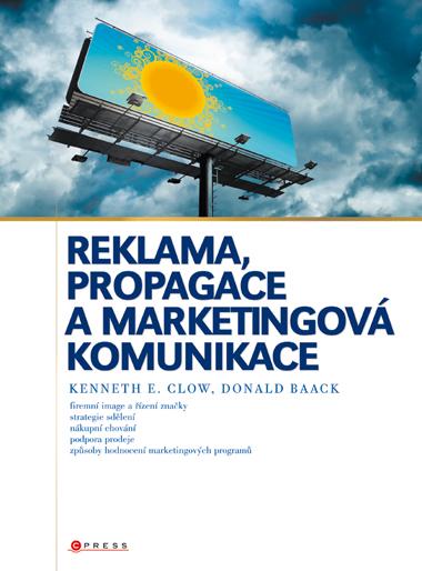 Reklama, propagace a marketingová komunikace - Náhled učebnice