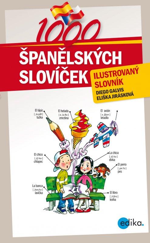 1000 Španělských slovíček - ilustrovaný slovník - Náhled učebnice
