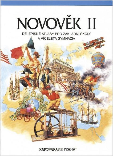 Novověk II. Dějepisný atlas