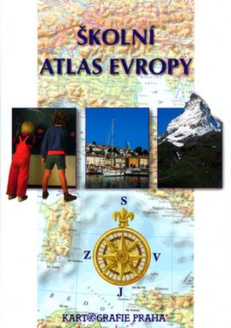 Školní atlas Evropy - Náhled učebnice