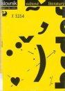 Slovník světové literatury, Autoři a díla, směry