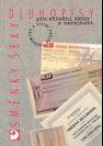Směnky, šeky, dluhopisy, pro střední školy a veřejnost