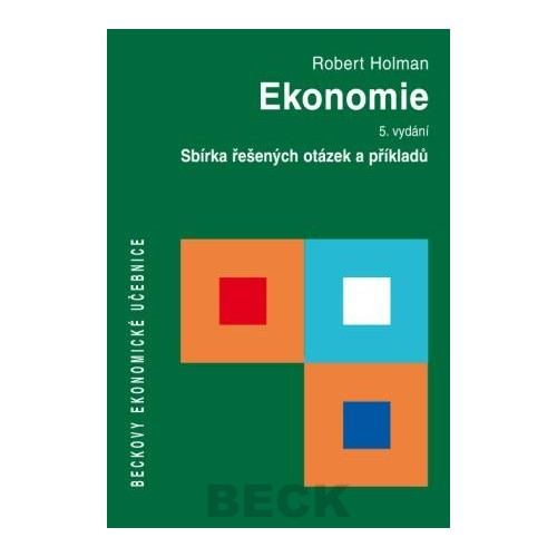 Ekonomie. Sbírka řešených otázek a příkladů - Náhled učebnice