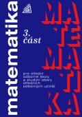 Matematika pro SOŠ a studijní obory SOU 3.část