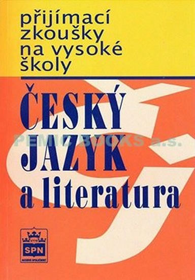 Český jazyk a literatura - přijímací zkoušky na vysoké školy