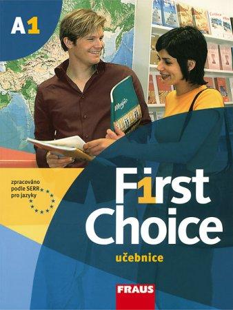 First Choice A1: učebnice.