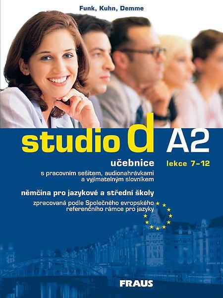 Studio d A2: učebnice (lekce 7-12) s pracovním sešitem, audionahrávkami a vyjímatelným slovníkem. 2007. 196 s. + 1 CD-ROM + brožura (32 s. ; 17 x 24 cm)
