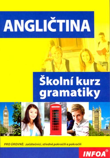 Angličtina, školní kurz gramatiky. (pro úrovně: začátečníci, středně pokročilí a pokročilí)