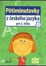 Pětiminutovky z českého jazyka pro 5. třídu - Náhled učebnice