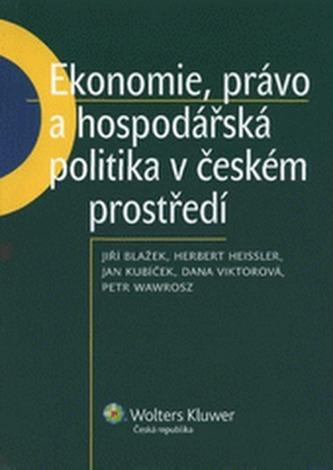 Ekonomie,právo a hospodářská politika v českém prostředí