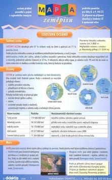 Mapka zeměpisu - praktická pomůcka pro žáky 8. a 9. tříd ZŠ