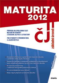 Maturita 2012 z českého jazyka a literatury - Náhled učebnice