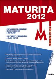 Maturita 2012-základní uroveň matematika - Náhled učebnice