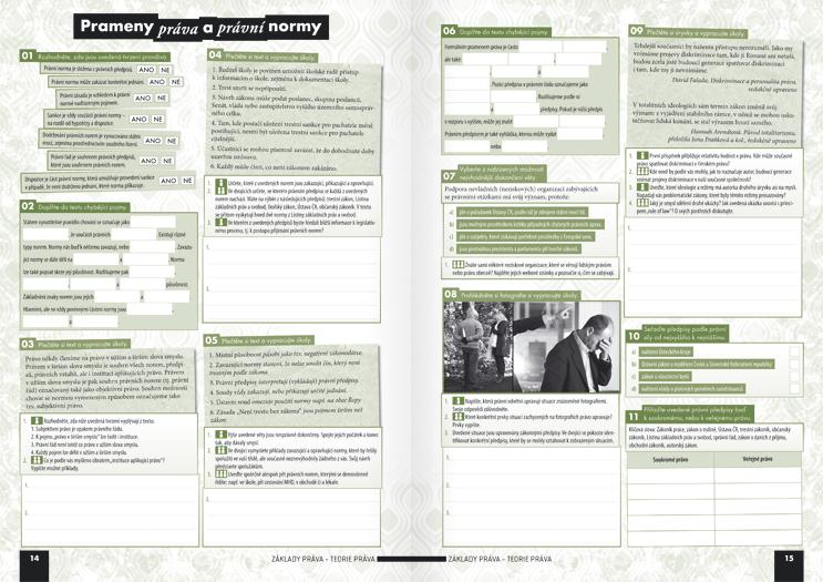 Společenské vědy pro střední školy, 3.díl (pracovní sešit) - Náhled učebnice