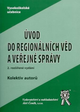 Úvod do regionálních věd a veřejné správy