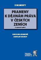Prameny k dějinám práva v českých zemích - Náhled učebnice