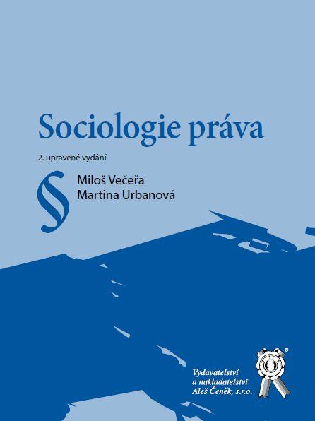 Sociologie práva - Náhled učebnice