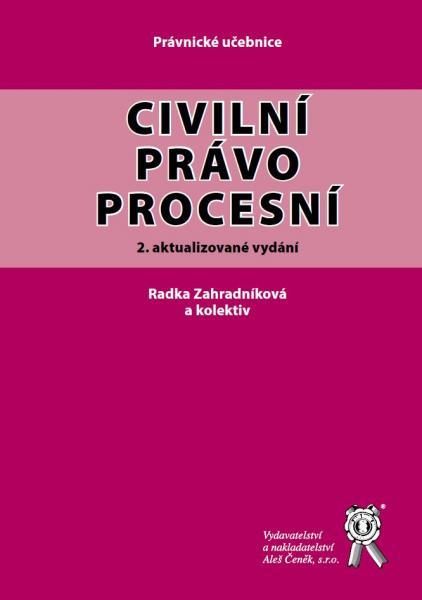 Civilní právo procesní, 2. vydání