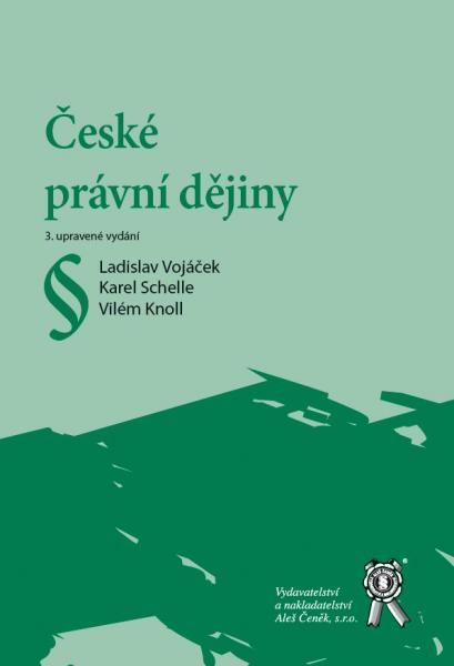 České právní dějiny - Náhled učebnice