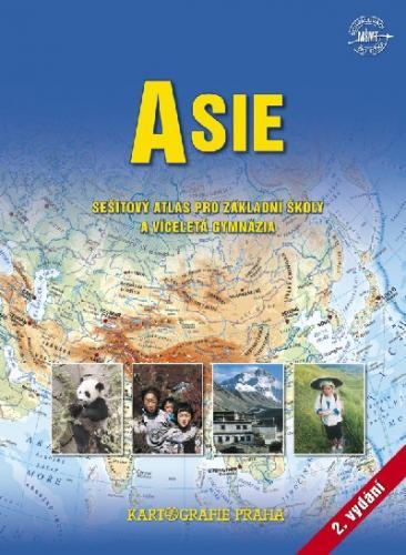 Asie - sešitový atlas pro základní školy a víceletá gymnázia - Náhled učebnice