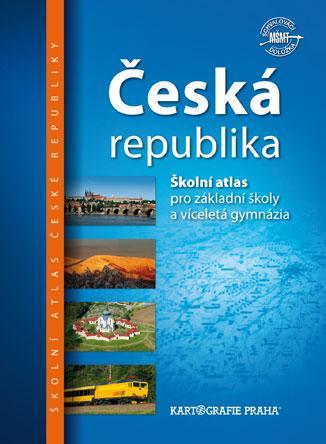 Česká republika: Školní atlas pro základní školy a víceletá gymnázia - Náhled učebnice