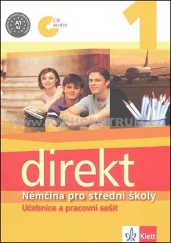 Direkt 1. Nemčina pro SŠ. Učebnice a pracovní sešit