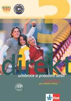 Direkt 3 NEU Němčina -- Učebnice s pracovním sešitem + CD