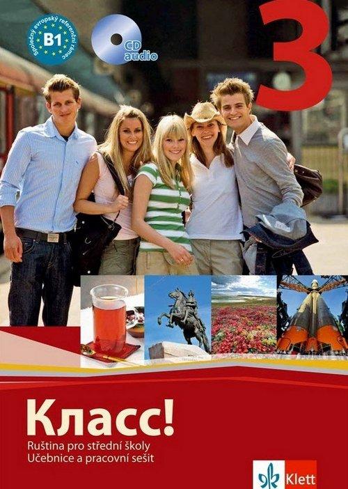 Klass! 3 (B1-B2) - balíček - Náhled učebnice