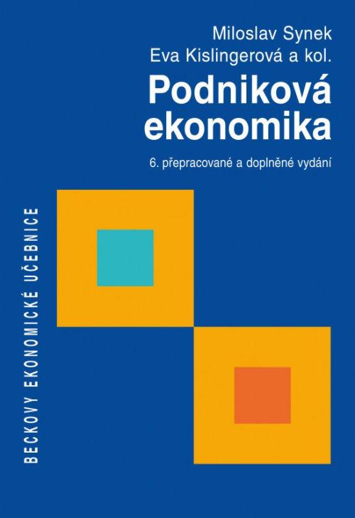 Podniková ekonomika, 6. přepracované vydání - Náhled učebnice